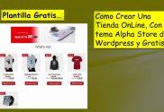 Como Crear Tienda Virtual Tema Gratis
